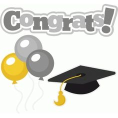 Balloons clipart graduation. Clip art celebration pattern