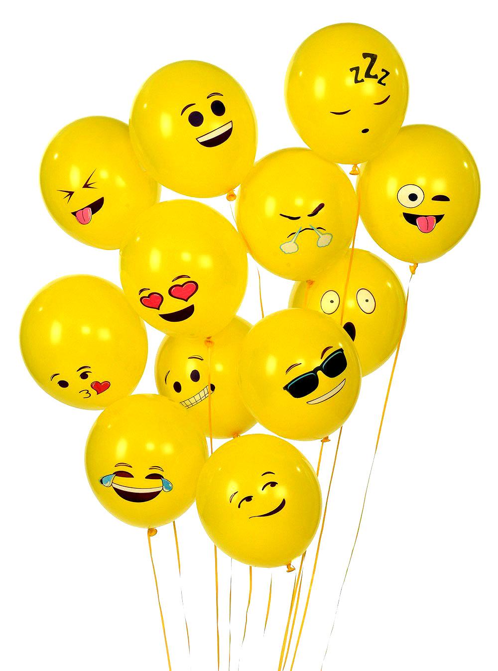 Emoji balloons gwyl io. Ballon clipart smiley face