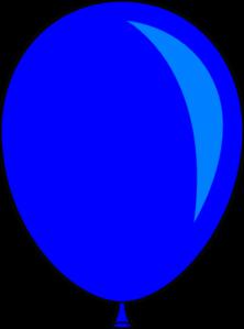 Blue balloon clip art. Balloons clipart template