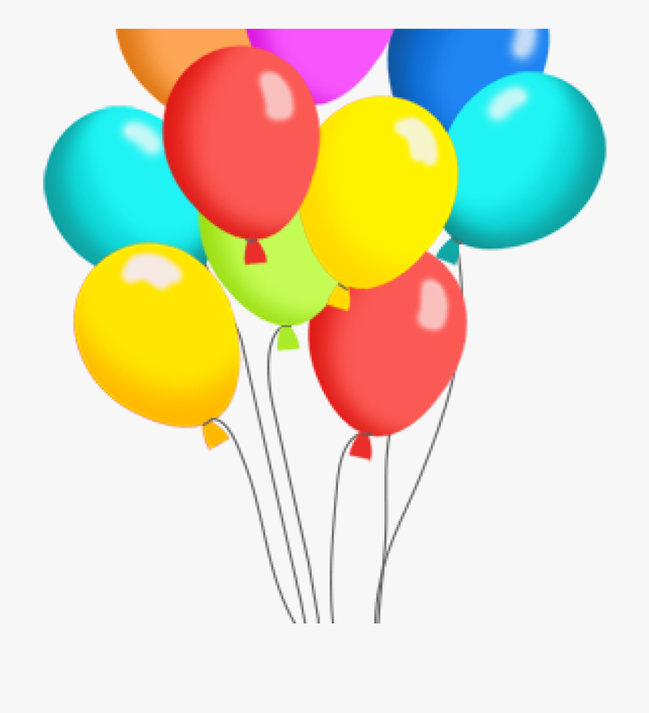 Clipart balloons clear background. Free clip art for