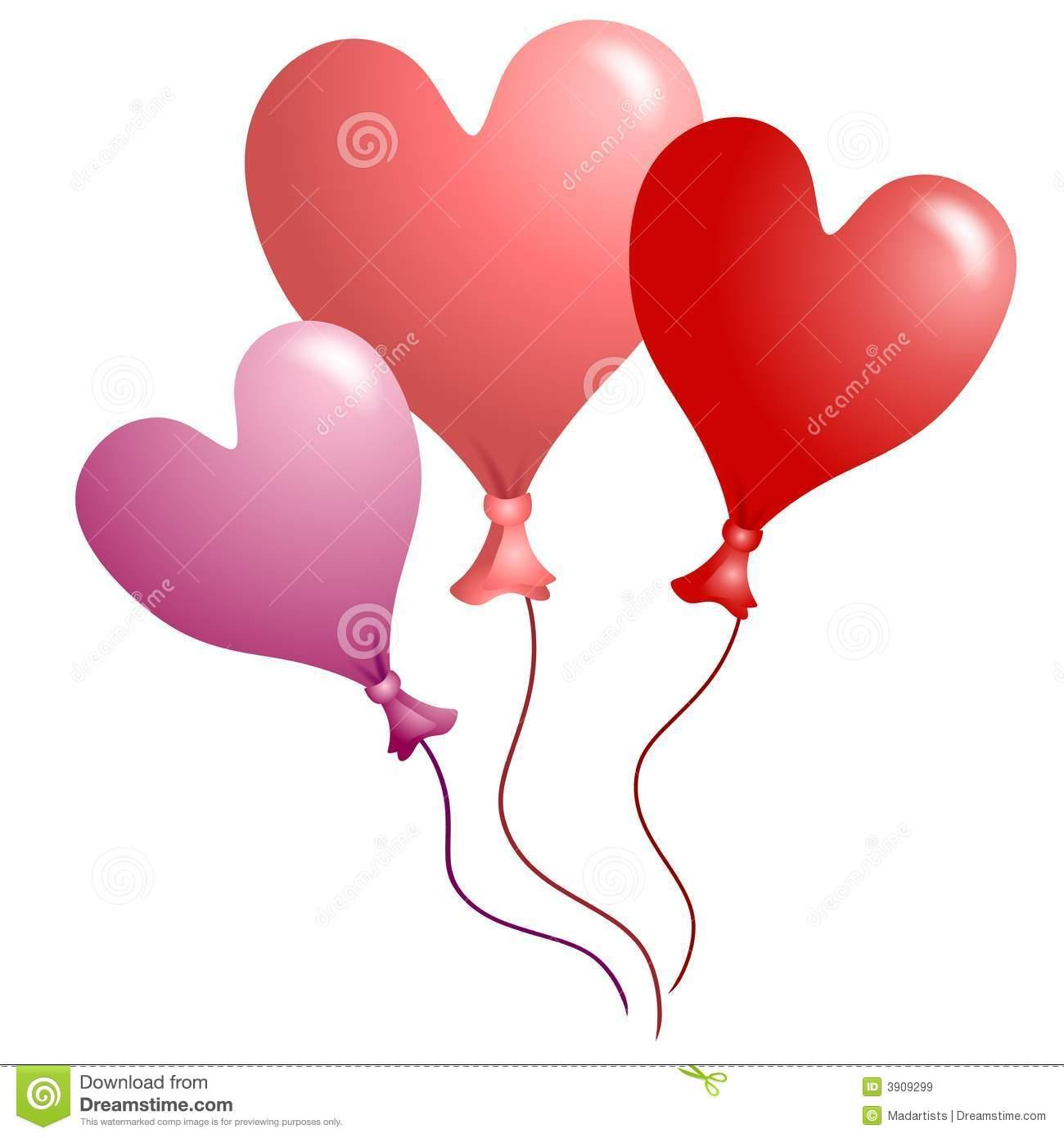 Balloon clipart valentines. Valentine balloons s day