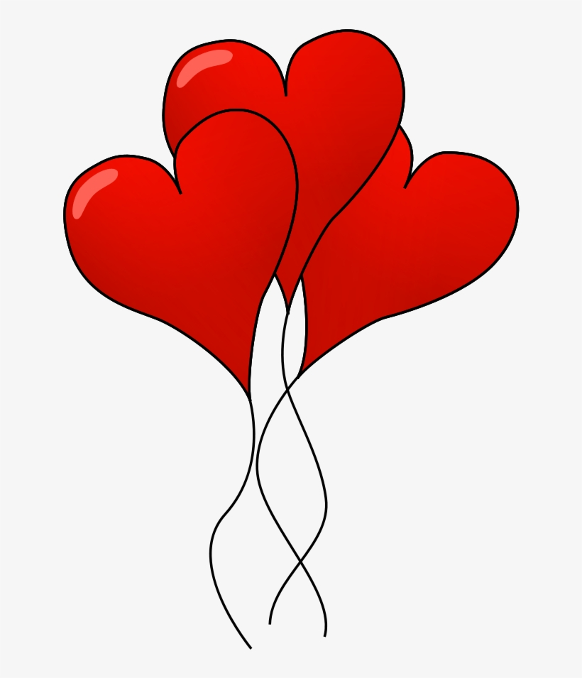 Balloons clipart valentines. Heart day free