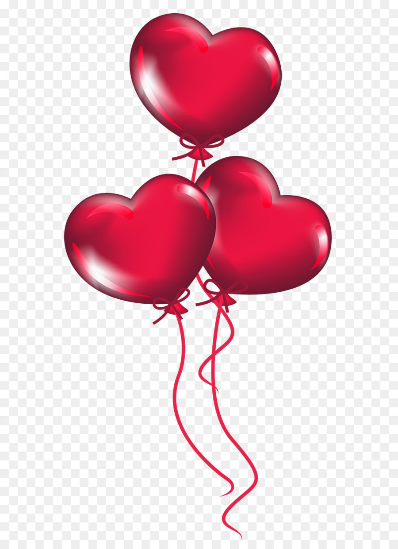 Balloons clipart valentines. Heart valentine s day