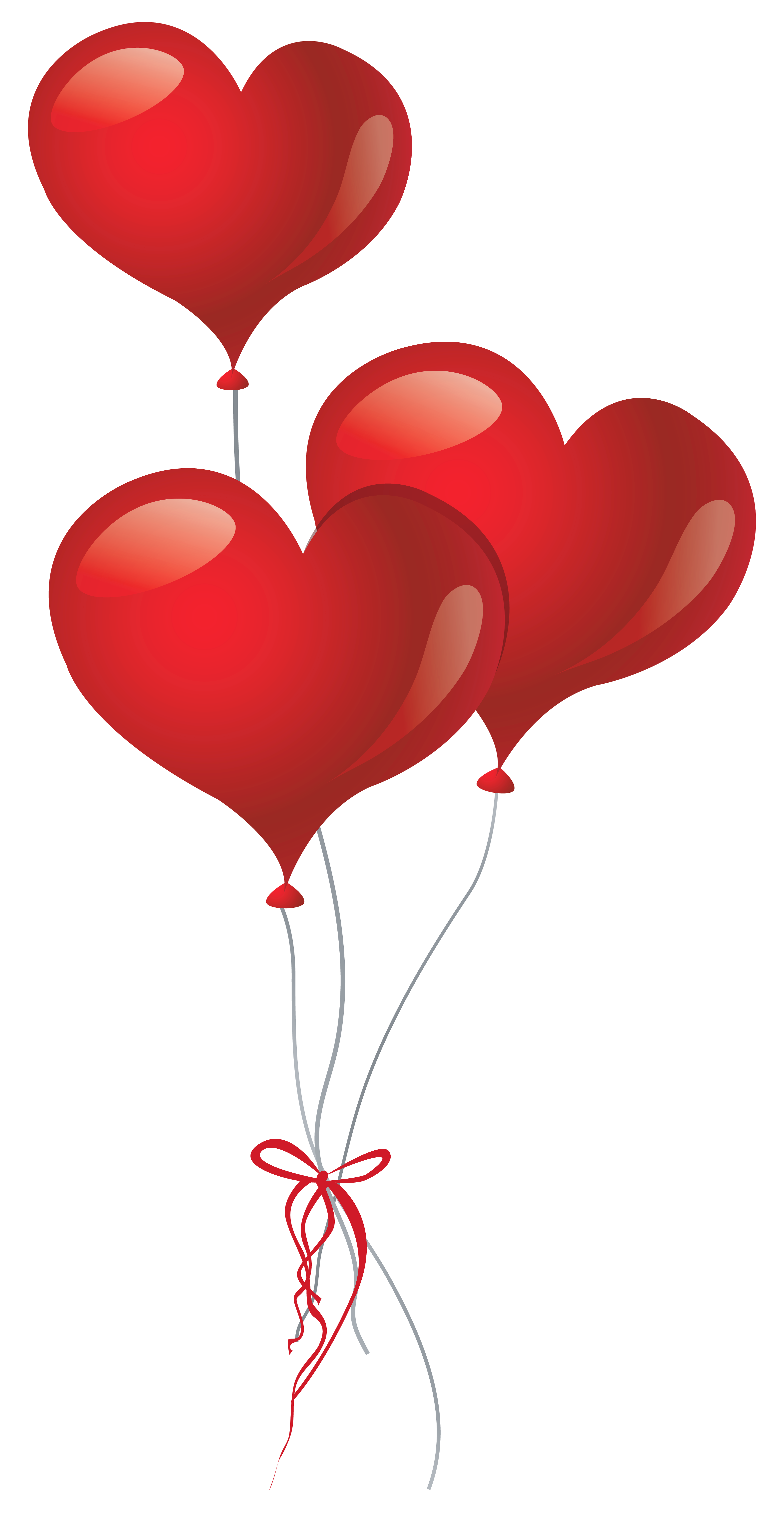 Hearts clipart balloon. Heart balloons png picture
