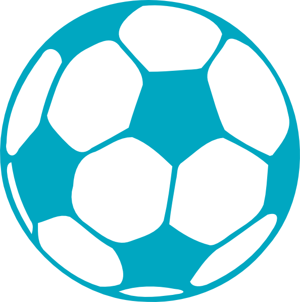 Colorful balls . Words clipart soccer