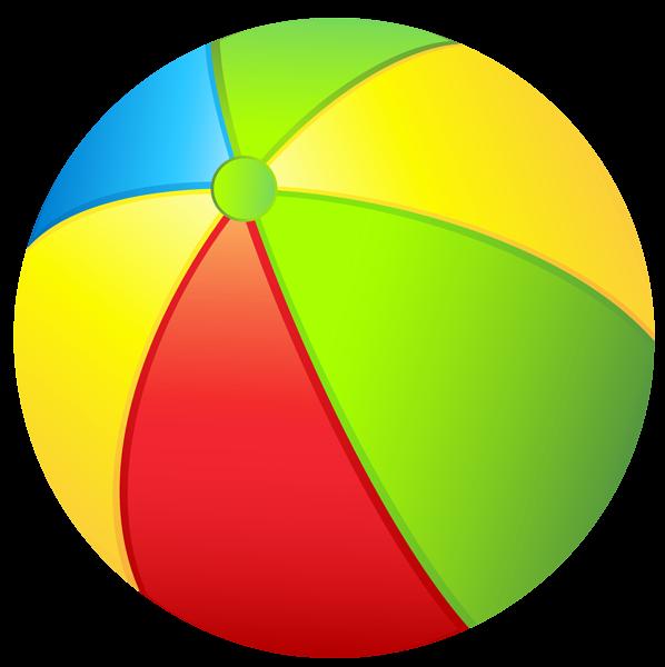 Transparent beach ball png. Balls clipart