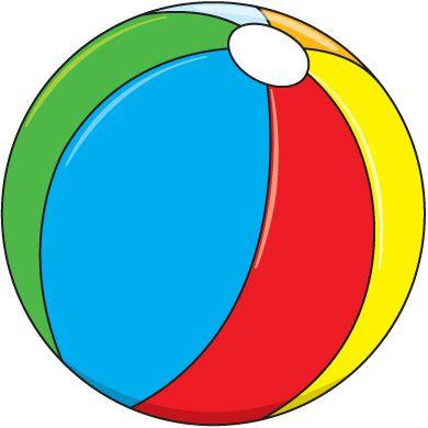 Beachball clipart boll. Beach balls ball clip