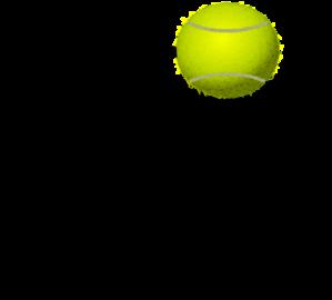 Tennis bounce clip art. Balls clipart bouncy ball