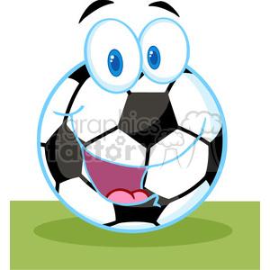 Balls clipart cartoon. Royalty free soccer ball