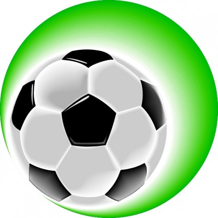 Vector soccer ball free. Balls clipart clip art