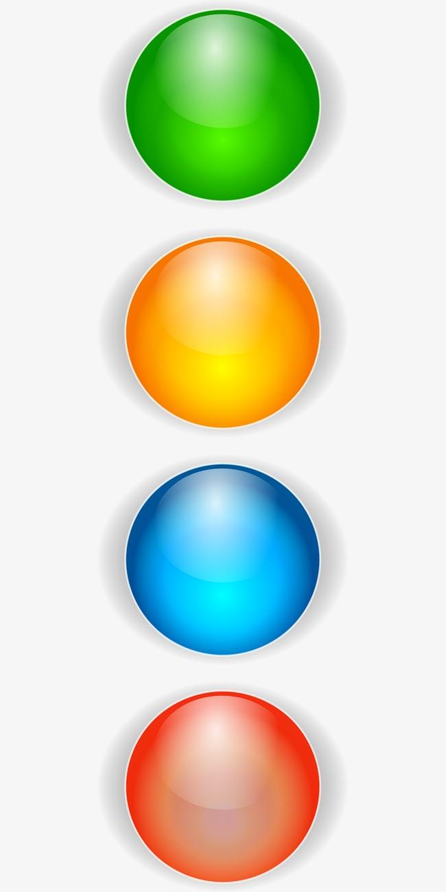 Balls clipart colored. Bullets segment png image