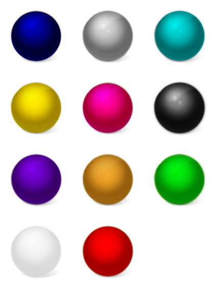 Color free icons icon. Ball clipart colored