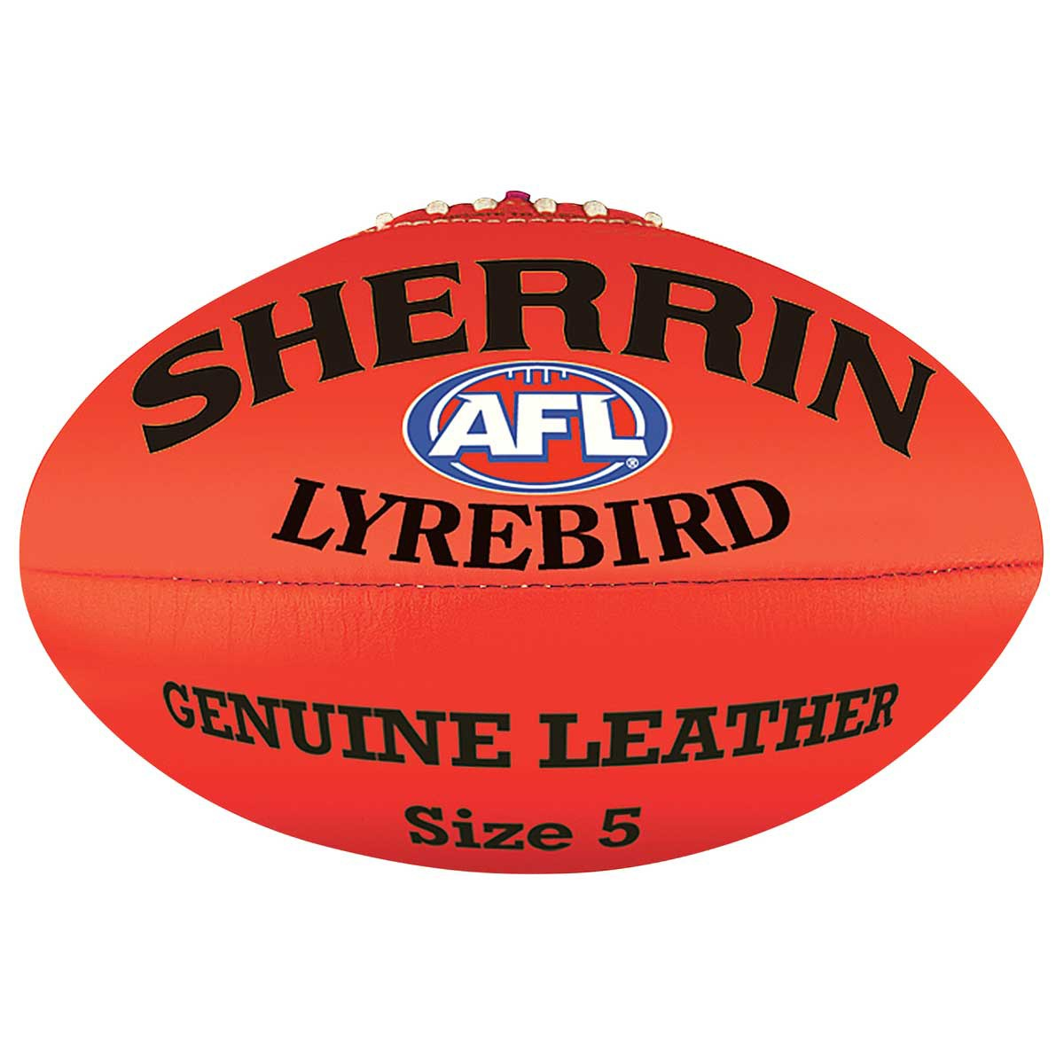 Ball clipart footy. Sherrin lyrebird red rebel
