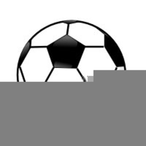 Soccer ball in free. Balls clipart motion