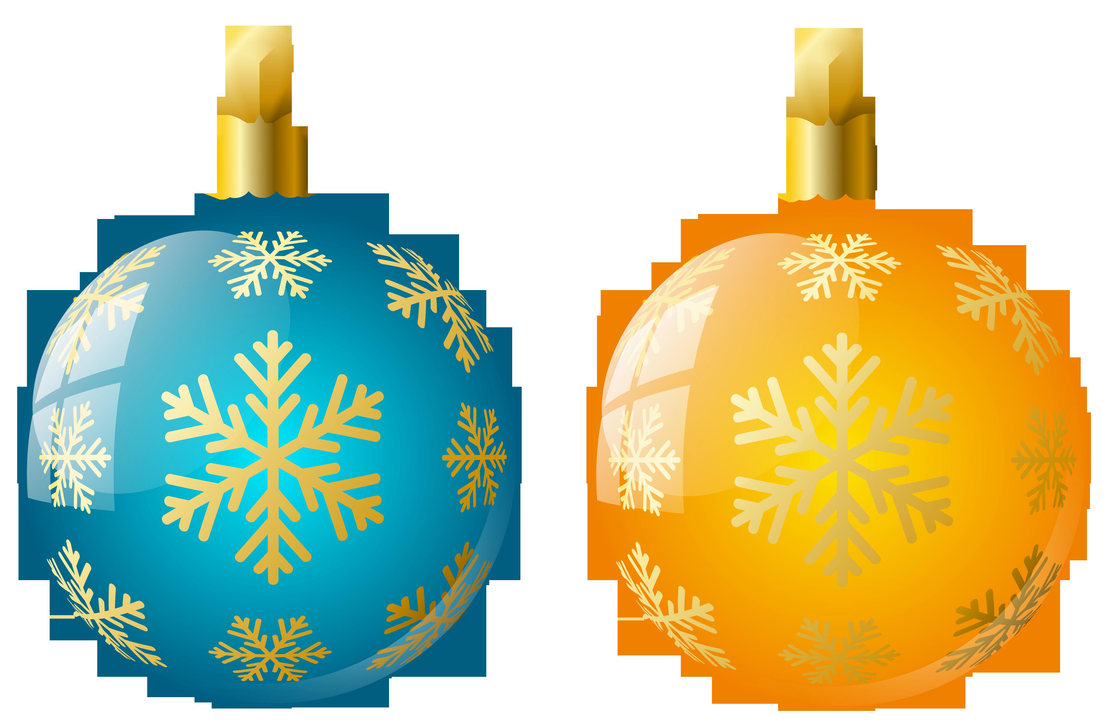 Christmas decoration clip art. Balls clipart ornament