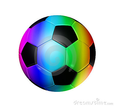 Balls rainbow