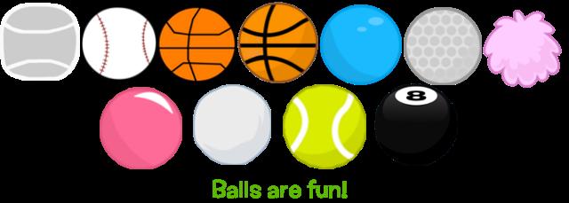 Balls clipart rubber ball. Are fun by thegreenskyofbfdi
