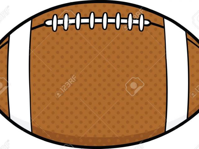 Balls clipart simple. Rugby ball outline free