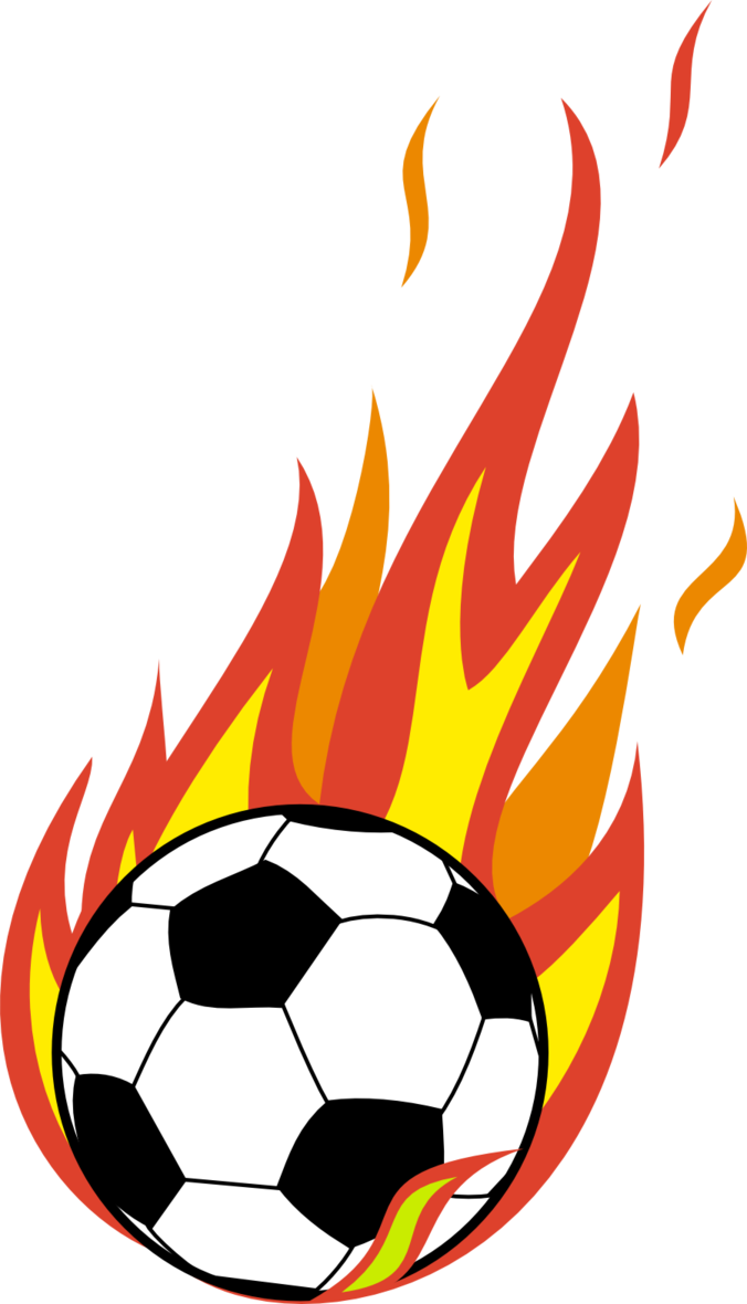 Comet clipart flame ball. Soccer transparent png pictures