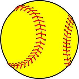 Balls clipart softball.