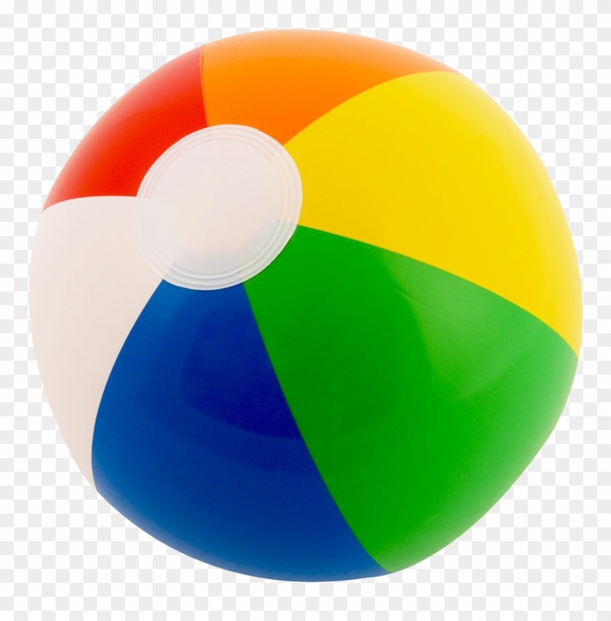 Beach ball . Beachball clipart transparent background