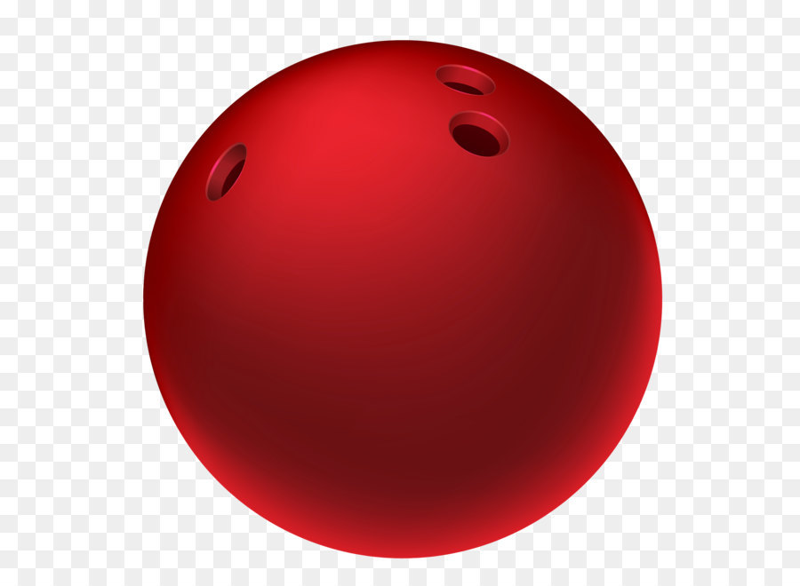 Red bowling png picture. Ball clipart sphere
