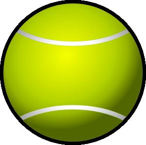 Simple clip art at. Ball clipart tennis ball