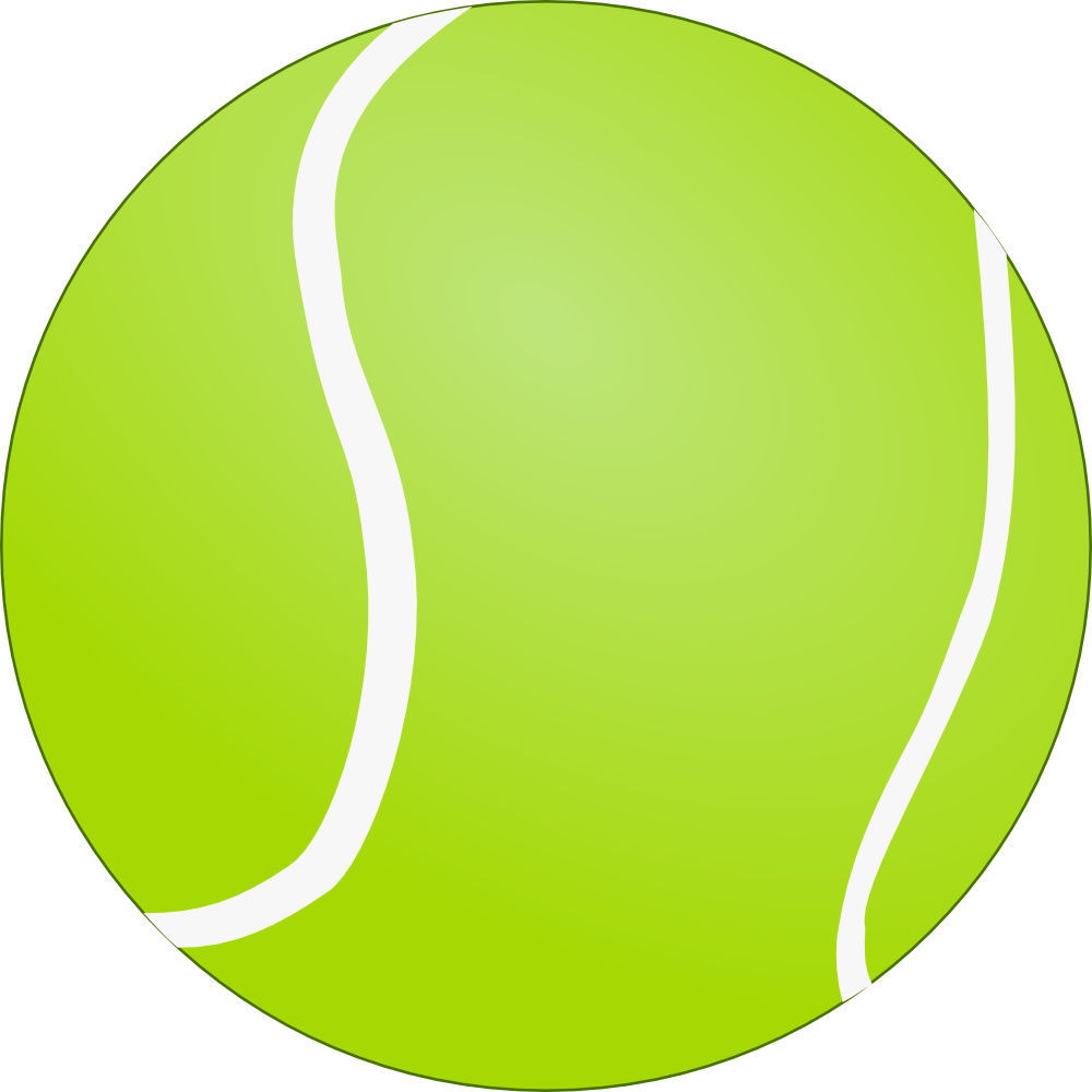 Cd clipart electronic shop. Tennis ball