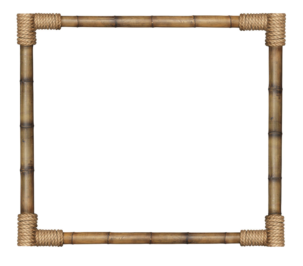 Bamboo border png.  for free download