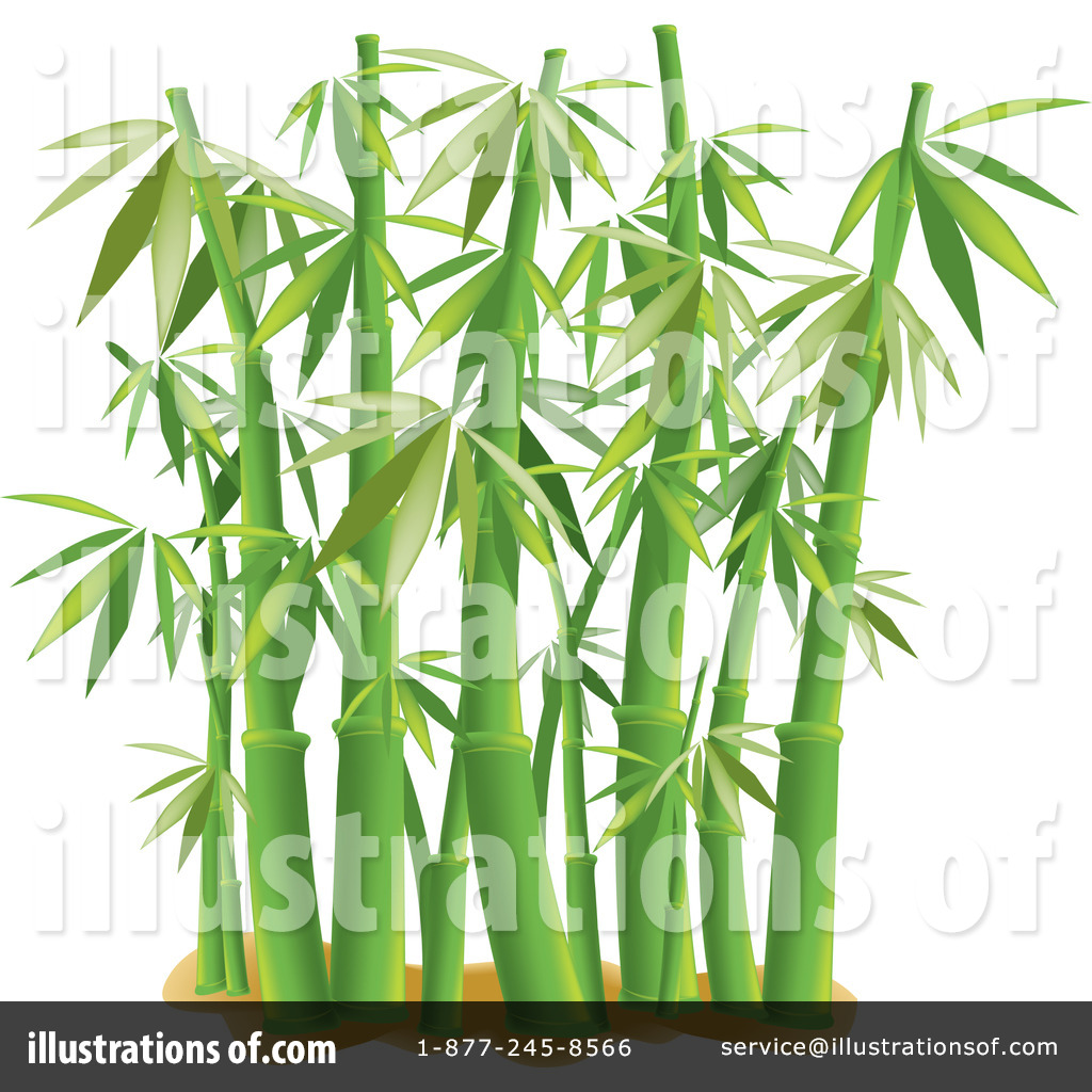 Illustration by pams royaltyfree. Bamboo clipart