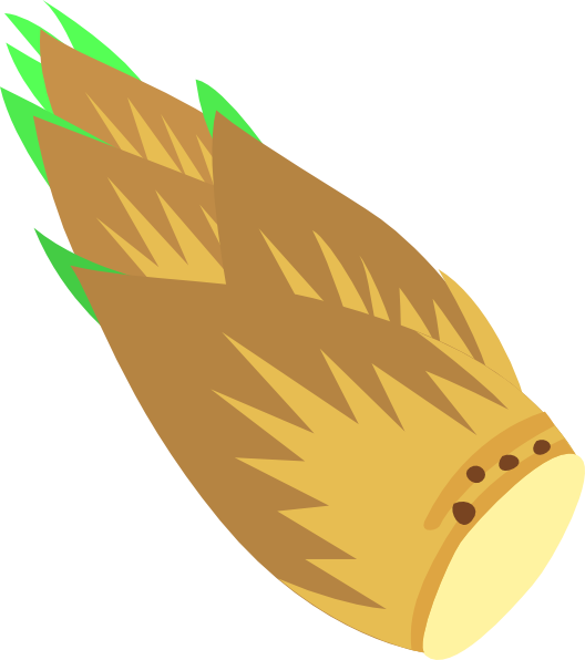 Bamboo clipart bamboo shoot. Www clker com cliparts