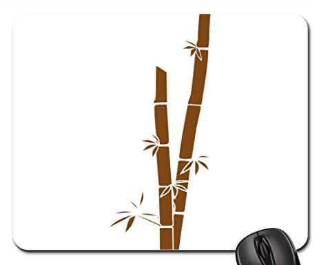 Bamboo clipart bamboo stalk. Amazon com mouse pad