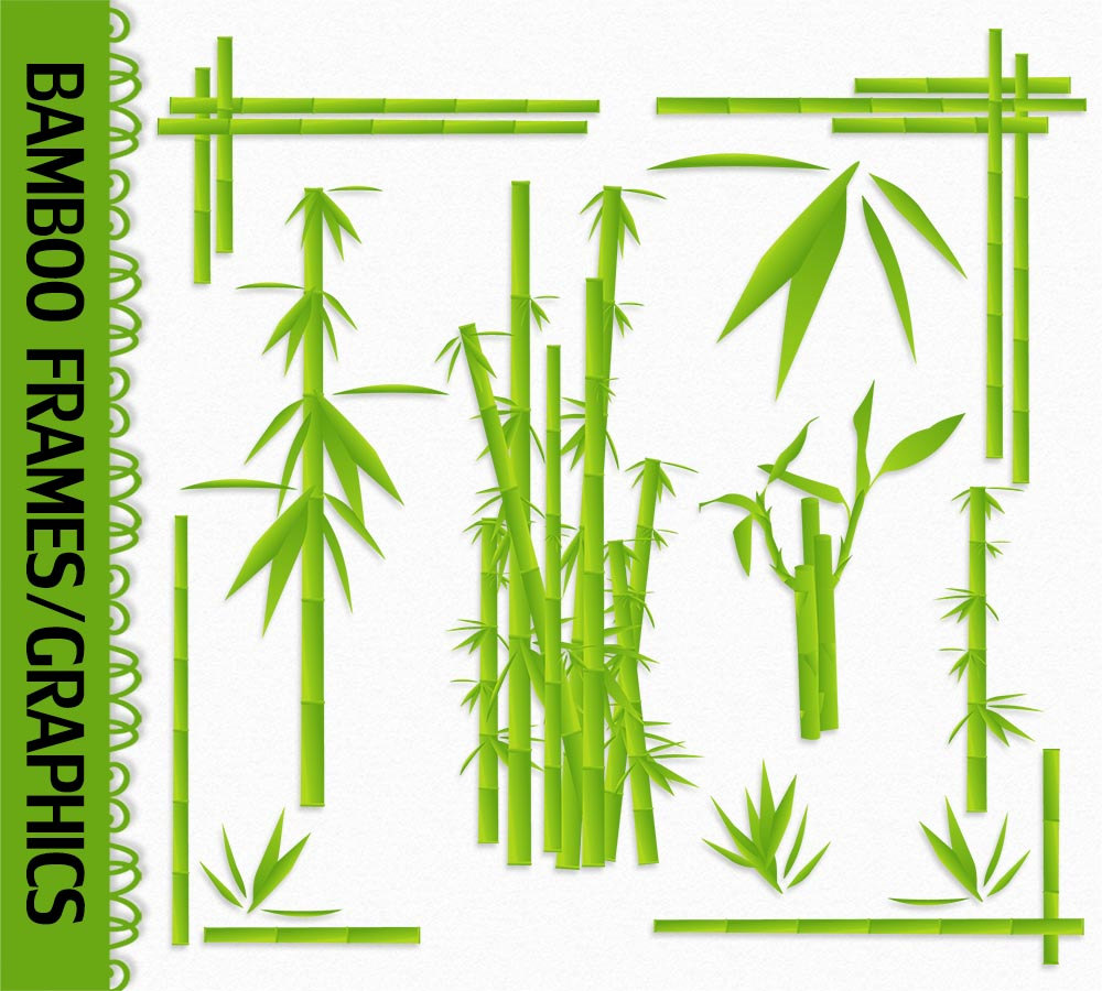 Clip art graphic shoots. Bamboo clipart bamboo stem
