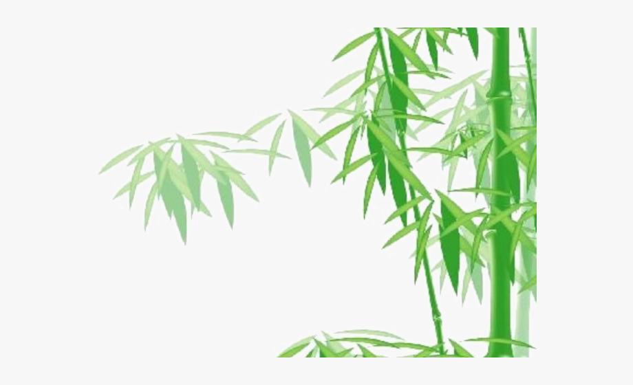 Bamboo clipart bamboo stem. Tree panda lucu gambar