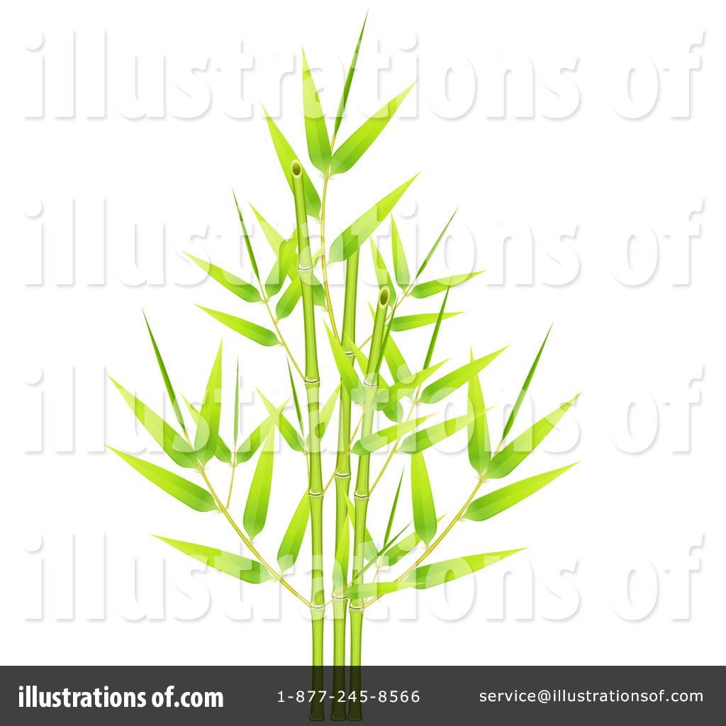 Bamboo clipart bamboo stem. Illustration by oligo royaltyfree
