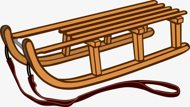 Bamboo clipart brown bamboo. Sled png image and