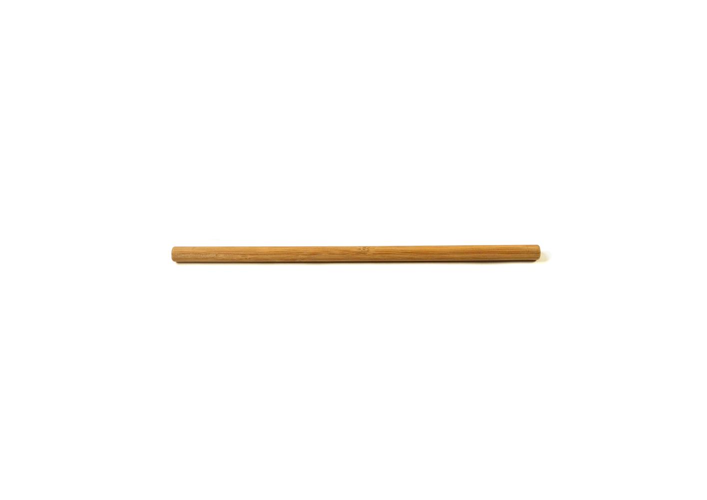 Slim medium stick . Bamboo clipart brown bamboo
