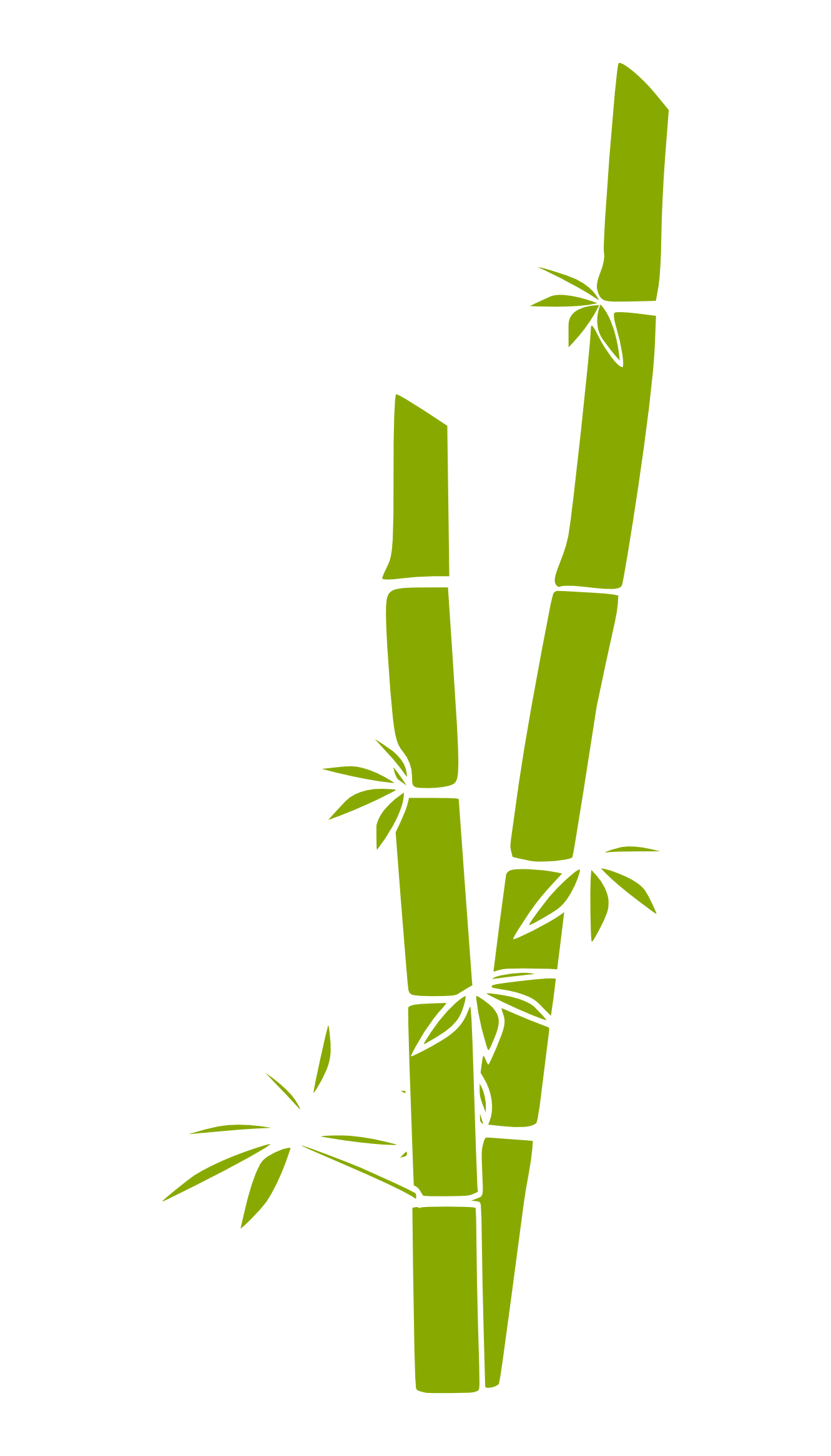 Panda bamboo stick