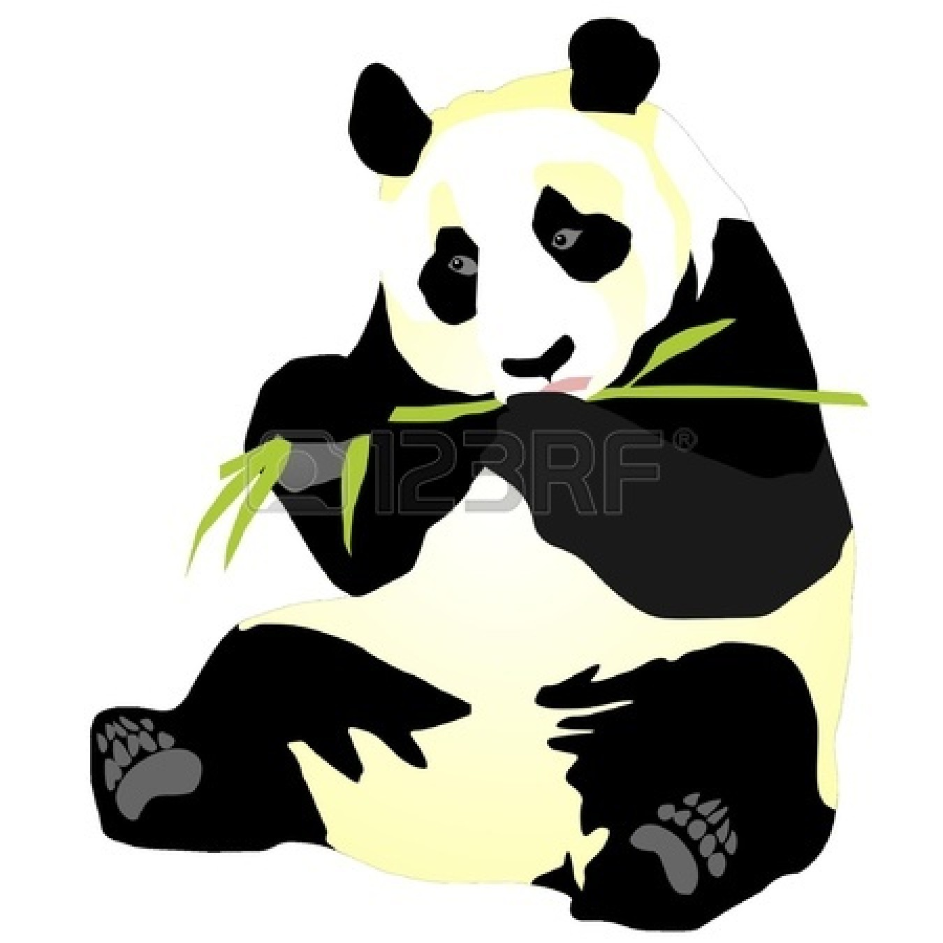 Bamboo clipart panda. Free images giant clip