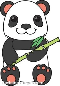 Bamboo clipart panda. Free images giant