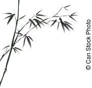 Bamboo clipart short. Design of chinese trees