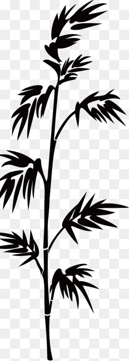 Png vectors psd and. Bamboo clipart silhouette