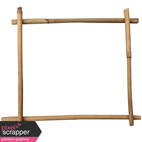 The veggie patch graphic. Bamboo frame png