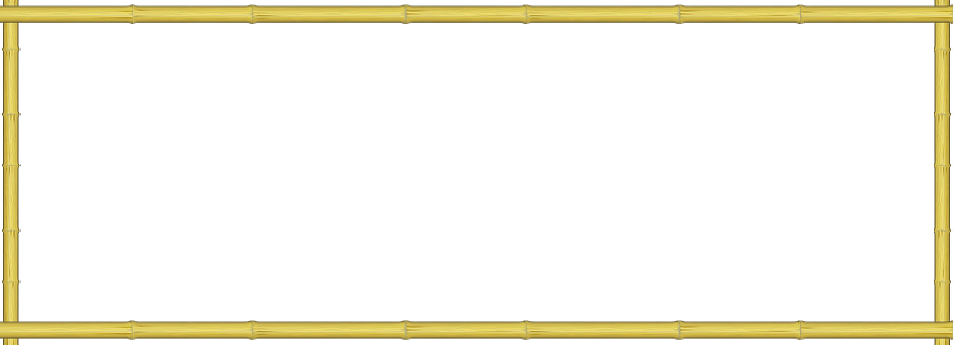 Bamboo frame png.  for free download