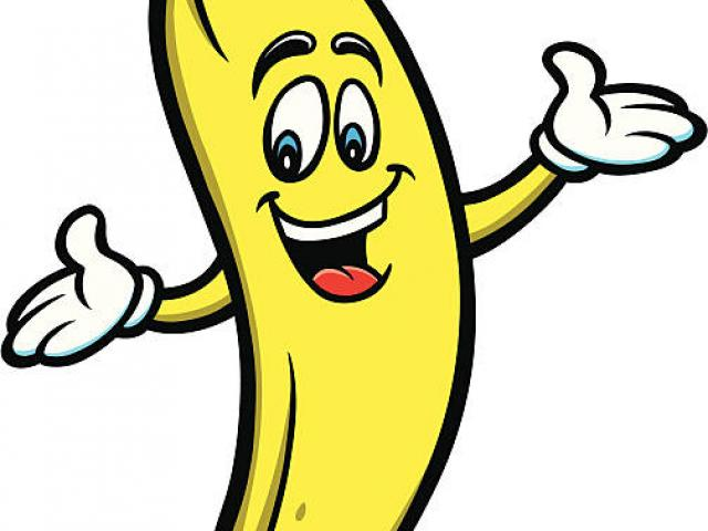 Banana clipart animated. Cartoon picture free download