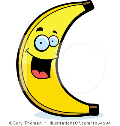 Banana clipart animated. Cartoon free