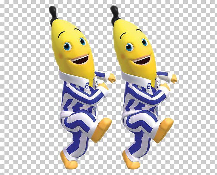 Pajamas day television show. Banana clipart animated