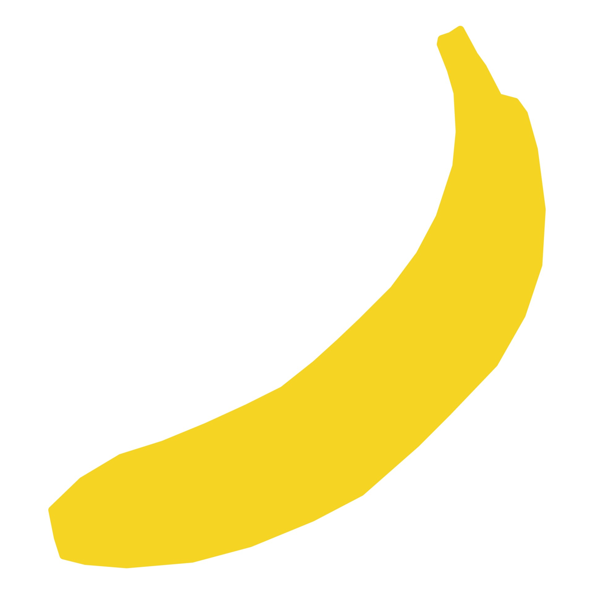 Silhouette free stock photo. Banana clipart babana