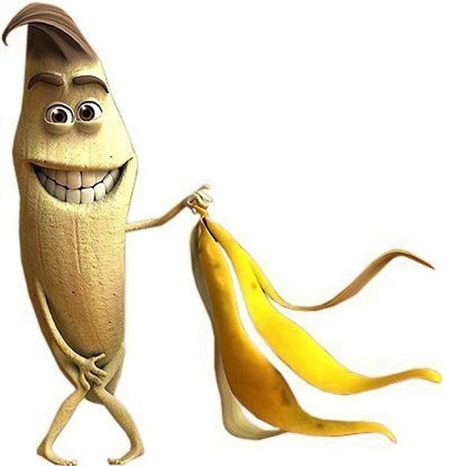 Naked know your meme. Banana clipart banaba
