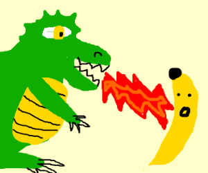 Banana clipart banaba. Fights deathwing